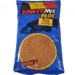 Прикормка Mondial-F Powermix RIVER Caramel 1кг