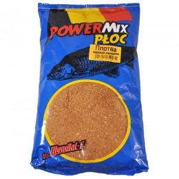 Прикормка Mondial-F Powermix ROACH Black Amandel 1кг