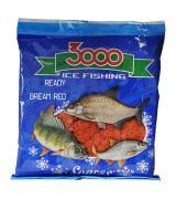Прикормка зимняя готовая Sensas 3000 BREAM RED 0,5кг
