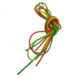 Кембрики силиконовые цветные 010 набор