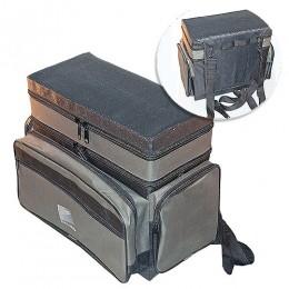 Ящик-сумка-Рюкзак рыболовный пенопластовый 2-х ярус. H-2LUX