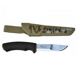 Нож универсальный в пласт. ножнах MoraKNIV BUSHCRAFT DESERT CAMO