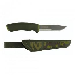 Нож универсальный в пласт. ножнах MoraKNIV BUSHCRAFT FOREST CAMO