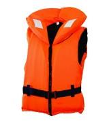 Жилет спасательный с воротником на молнии Norfin 100N 70-90кг/оранж.