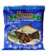 Прикормка зимняя готовая Sensas 3000 ROACH RED 0,5кг