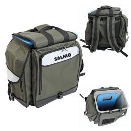 Ящик-Рюкзак рыболовный зимний Salmo 61 30х38х38
