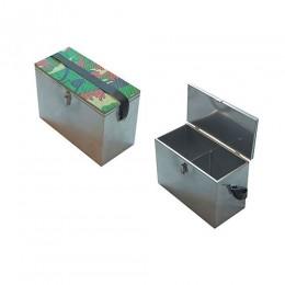 Ящик рыболовный нержавеющая сталь 400х190х290
