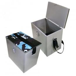 Ящик рыболовный окрашеный сталь 300х190х290