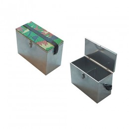 Ящик рыболовный оцинкованый сталь 300х190х290