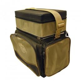 Ящик-сумка-Рюкзак рыболовный зимний пенопластовый 2-х ярус. B-2