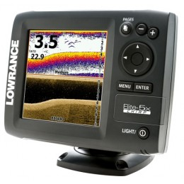 Эхолот Lowrance Elite-5x CHIRP (83/200+455/800)