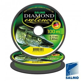 Леска монофильная Salmo Diamond EXELENCE 100/045