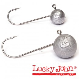 Джиг-головка Lucky John MJ ROUND HEAD 03,0г кр.001