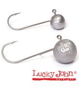 Джиг-головка Lucky John MJ ROUND HEAD 04,0г кр.001
