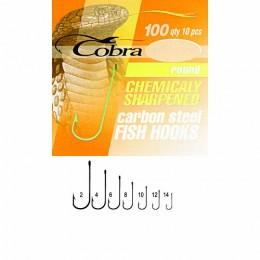 Крючки Cobra ROUND сер.100 разм.014 10шт.