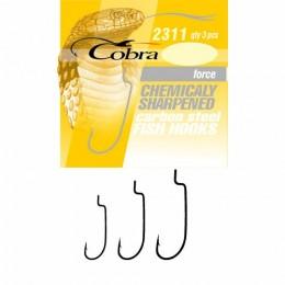 Крючки офсетные Cobra FORCE сер.2311 разм.004/0 3шт.