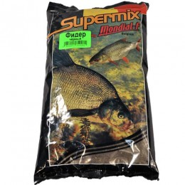 Прикормка Mondial-F Supermix FEEDER Black 1кг